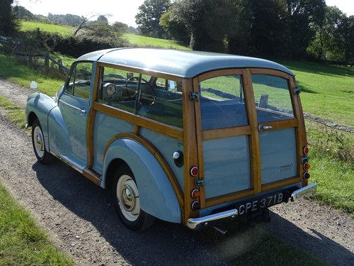 Beautiful 1964 Morris Minor Traveller,low mileage and owners SOLD (picture 4 of 6)