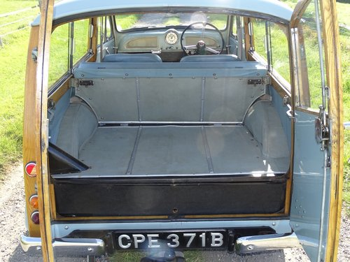 Beautiful 1964 Morris Minor Traveller,low mileage and owners SOLD (picture 6 of 6)