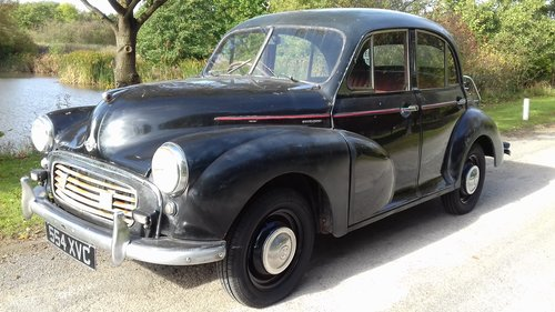 1955 MORRIS MINOR 'SPLIT SCREEN'  OTHERS WANTED SOLD (picture 1 of 6)