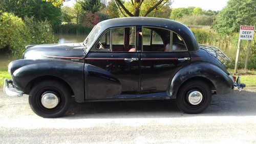 1955 MORRIS MINOR 'SPLIT SCREEN'  OTHERS WANTED SOLD (picture 2 of 6)