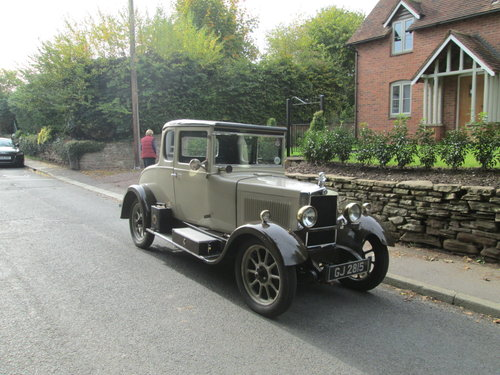1930 Morris Cowley Doctors Coupe SOLD (picture 1 of 6)