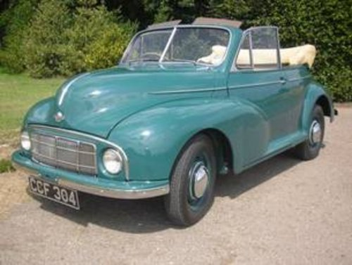 1949 Morris Minor Series MM Tourer - 2nd earliest survivor  SOLD (picture 1 of 6)