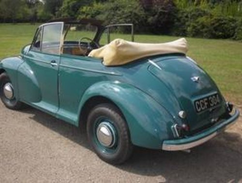 1949 Morris Minor Series MM Tourer - 2nd earliest survivor  SOLD (picture 2 of 6)