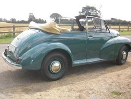 1949 Morris Minor Series MM Tourer - 2nd earliest survivor  SOLD (picture 6 of 6)