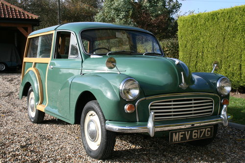 1968 Morris Minor Traveller .Now Sold. More Classic Cars  Wanted (picture 1 of 6)
