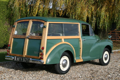 1968 Morris Minor Traveller .Now Sold. More Classic Cars  Wanted (picture 2 of 6)