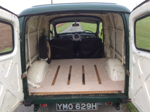 1970 Restored Minor Van in excellent condition SOLD (picture 6 of 6)