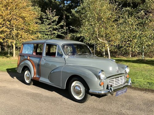 1961 Morris Minor Traveller ~£50k/1000hr resto - ITS NEW! SOLD (picture 1 of 6)