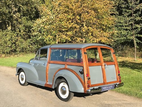 1961 Morris Minor Traveller ~£50k/1000hr resto - ITS NEW! SOLD (picture 2 of 6)