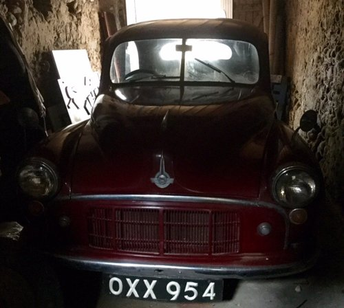 Morris Minor 1954, 'new' gold seal engine REDUCED For Sale (picture 1 of 6)