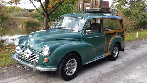1966 MORRIS MINOR TRAVELLER 'DONALD' ~ 1 FORMER KEEPER SOLD (picture 1 of 6)