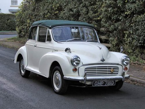1966 Morris Minor Factory Convertible SOLD (picture 1 of 6)