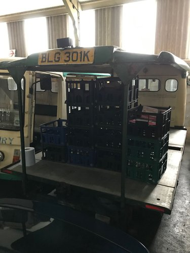 1971 CLASSIC ELECTRIC MILK FLOAT RESTORED TO YOUR SPEC For Sale (picture 3 of 6)