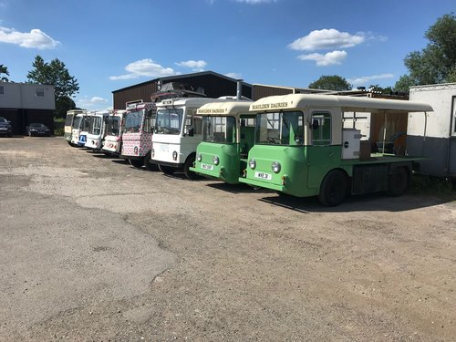 1971 CLASSIC ELECTRIC MILK FLOAT RESTORED TO YOUR SPEC For Sale (picture 5 of 6)