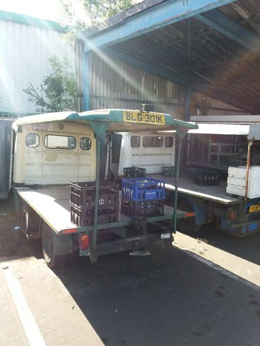 1971 CLASSIC ELECTRIC MILK FLOAT RESTORED TO YOUR SPEC For Sale (picture 6 of 6)