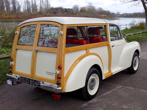 1968 FULLY REBUILT MORRIS MINOR TRAVELLER For Sale (picture 5 of 6)