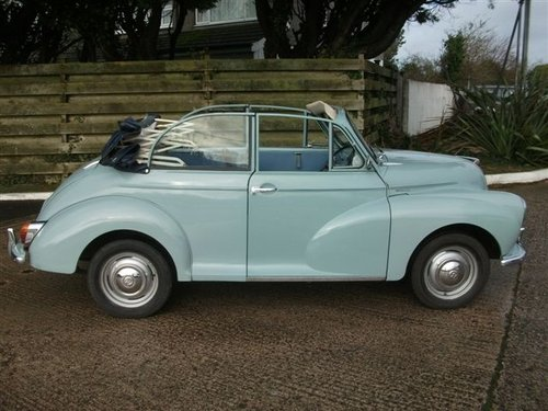 1966 Genuine Morris Minor Convertible SOLD (picture 2 of 6)