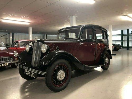 1938 Morris 8 Four Door Saloon Series II SOLD (picture 1 of 6)