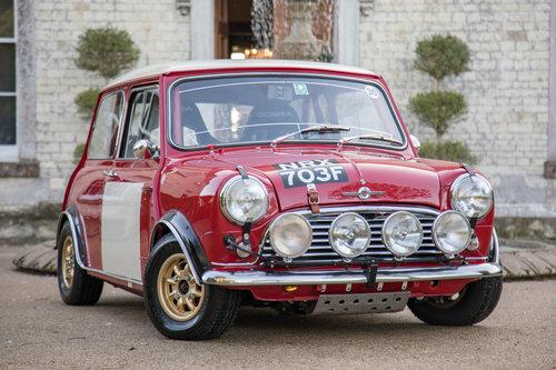 1967 Swituned Morris Mini Cooper MkI Monte Carlo Car SOLD (picture 1 of 6)