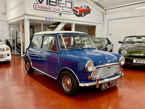 1969 Morris Mini Cooper S Mkii Documented Restoration Uk Car For