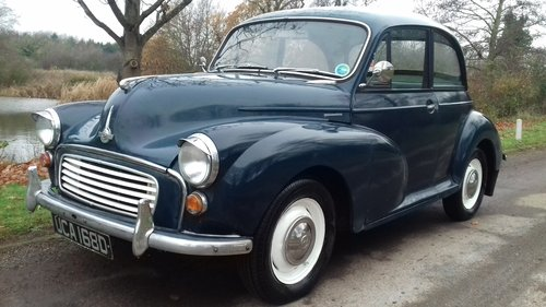 1966 MORRIS MINOR 2DR SALOON ~ GREAT 'ENTRY LEVEL' CLASSIC!! SOLD (picture 1 of 6)