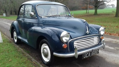 1966 MORRIS MINOR 2DR SALOON ~ GREAT 'ENTRY LEVEL' CLASSIC!! SOLD (picture 2 of 6)