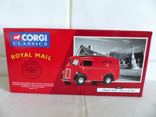 """MORRIS """"J"""" VAN-ROYAL MAIL-1:43 SCALE MODEL For Sale (picture 1 of 6)"""