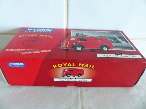 """MORRIS """"J"""" VAN-ROYAL MAIL-1:43 SCALE MODEL For Sale (picture 2 of 6)"""