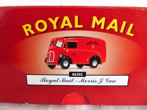 """MORRIS """"J"""" VAN-ROYAL MAIL-1:43 SCALE MODEL For Sale (picture 5 of 6)"""