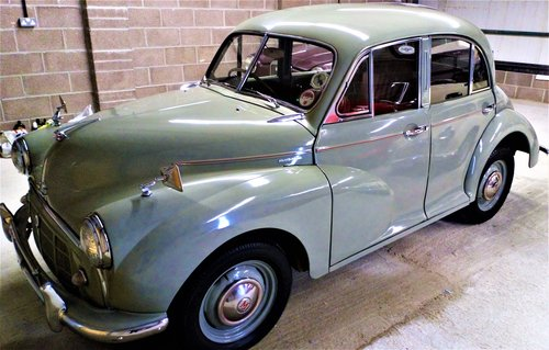 1953 Morris Minor split screen.  For Sale (picture 2 of 6)