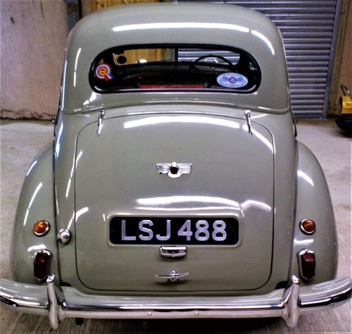1953 Morris Minor split screen.  For Sale (picture 4 of 6)
