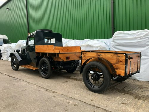 1938 Morris 8 Series II Pick-Up Truck & Trailer SOLD (picture 5 of 6)