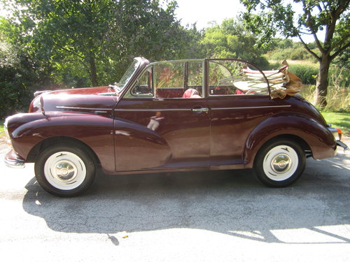 1970 MORRIS MINOR 'CLARISSA' CONVERTIBLE ~ VERY PRESENTABLE SOLD (picture 1 of 6)