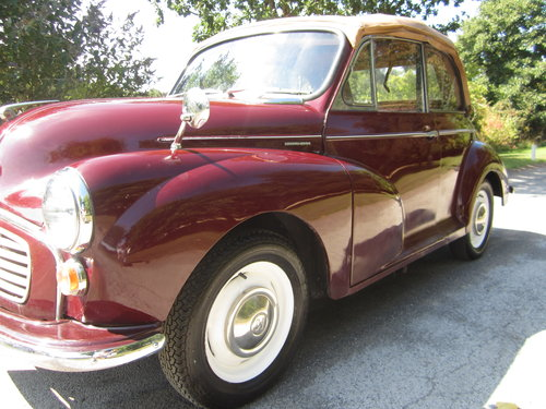 1970 MORRIS MINOR 'CLARISSA' CONVERTIBLE ~ VERY PRESENTABLE SOLD (picture 5 of 6)