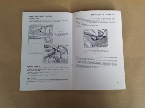 Morris Oxford S3 and Cowley 1500 Handbook For Sale (picture 2 of 2)