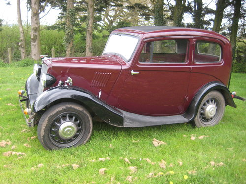 1937 Morris Eight series 2. SOLD (picture 1 of 6)