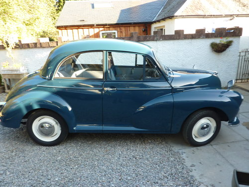 1970 Morris Minor 1000 SOLD (picture 1 of 6)