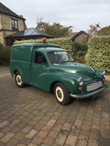 1970 Morris Minor Van for work, rest or play-REDUCED For Sale (picture 1 of 6)
