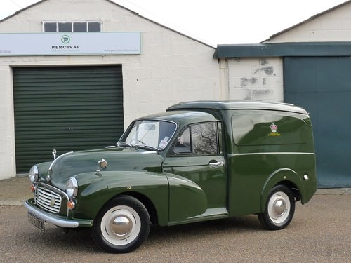 1970 Morris Minor Prison van, SOLD SOLD (picture 1 of 6)