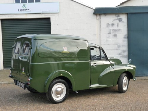 1970 Morris Minor Prison van, SOLD SOLD (picture 2 of 6)