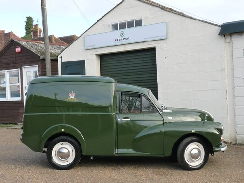 1970 Morris Minor Prison van, SOLD SOLD (picture 4 of 6)
