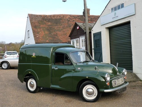 1970 Morris Minor Prison van, SOLD SOLD (picture 6 of 6)