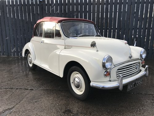 1967 Morris Minor convertible by Charles Wares SOLD (picture 1 of 6)