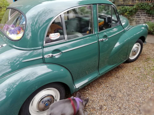 MORRIS MINOR 1965 4 door For Sale (picture 6 of 6)