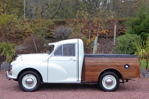 1970  Morris 1000 8 cwt unique Pick-Up Truck with bespoke cedar  SOLD (picture 1 of 6)