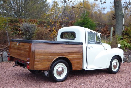 1970  Morris 1000 8 cwt unique Pick-Up Truck with bespoke cedar  SOLD (picture 6 of 6)