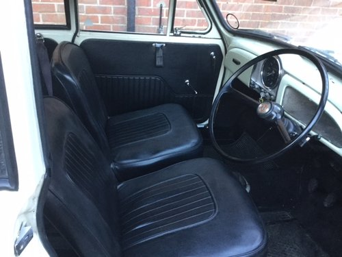 1969 Morris Minor 1000, 1098cc, Convertible For Sale (picture 3 of 6)
