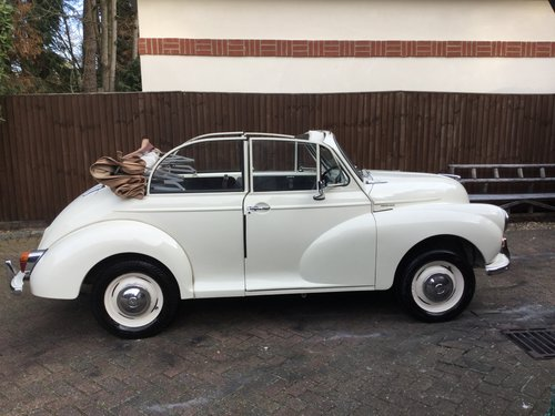 1969 Morris Minor 1000, 1098cc, Convertible For Sale (picture 2 of 6)