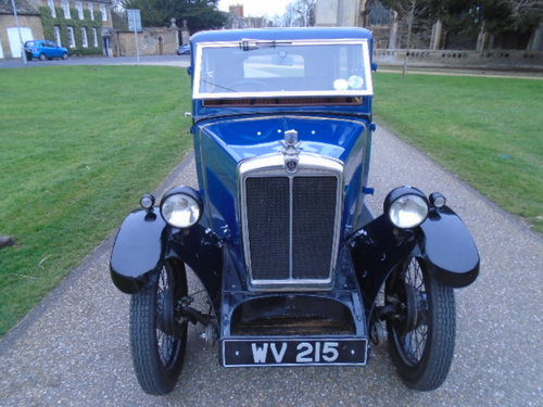 1931 Morris Minor, PREVIOUSLY RESTORED, STUNNING CAR.  For Sale (picture 3 of 6)