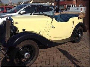 1936 Morris 8  four seat tourer